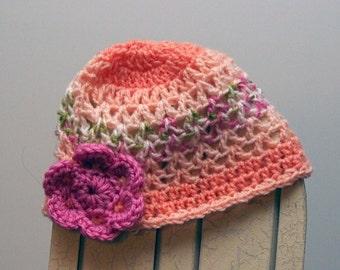 Orange Dream Baby Girl Hat