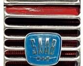Vintage Saab radiator emblem Photograph