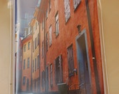 Pack of 5 notecards with envelopes - Old Town
