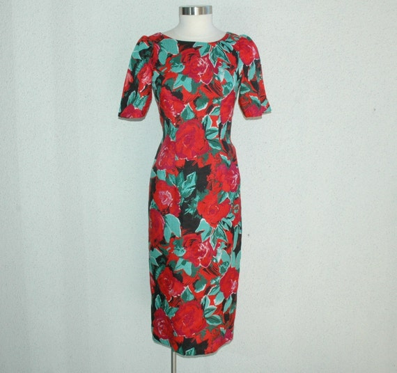 Rose Bowl Dress- Medium
