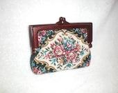 1960s Rose Pattern Wallet