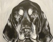 Special listing for ****Cooper****, Custom Pet Portrait, 6x6""