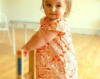Orangina Dress Sizes 6 months - 6Y Available