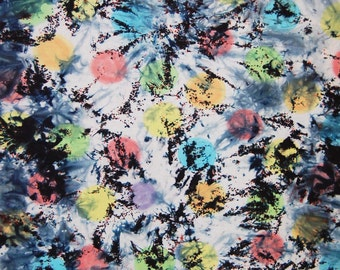 Half Yard, COSMOS, 23 x 42 Inches, Hand Dyed, Pre-Shrunk & Colorfast