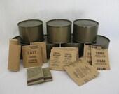Vintage Military C Rations MREs 1970s Man Cave Mantique