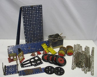 Antique Erector Set Parts and How To Book