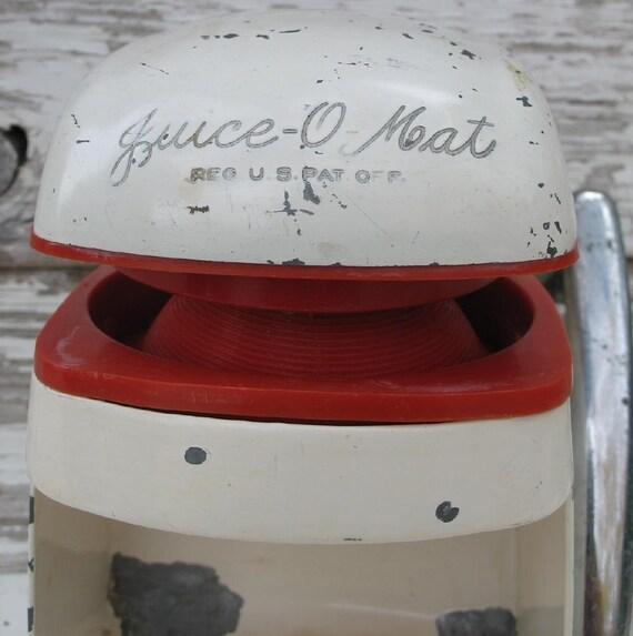 Vintage Juicer Juice O Mat Vogue Model