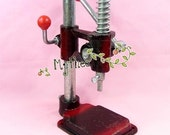 Large Package - Fabric Covered Button Press Machine Tool - 3 Dies - 600 Buttons - FREE SHIPPING