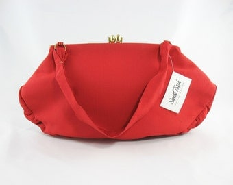 Vintage 1950s Red Purse