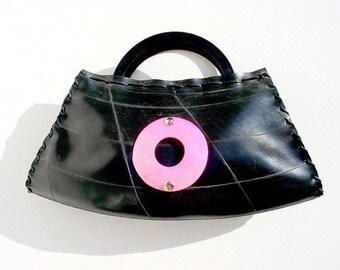 Handmade Recycled Rubber Handbag (FR012)