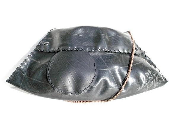 Handmade Recycled Rubber Handbag (UR007)