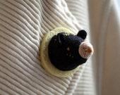Secret Society of Bears - brooch
