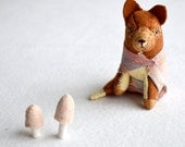 little lady fox - woodland red fox, plush, soft sculpture by royalmint