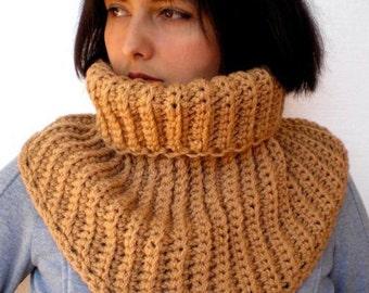 Clear Brown Shawl Crocheted Shawl Super Soft mixed Wool Woman Shawl