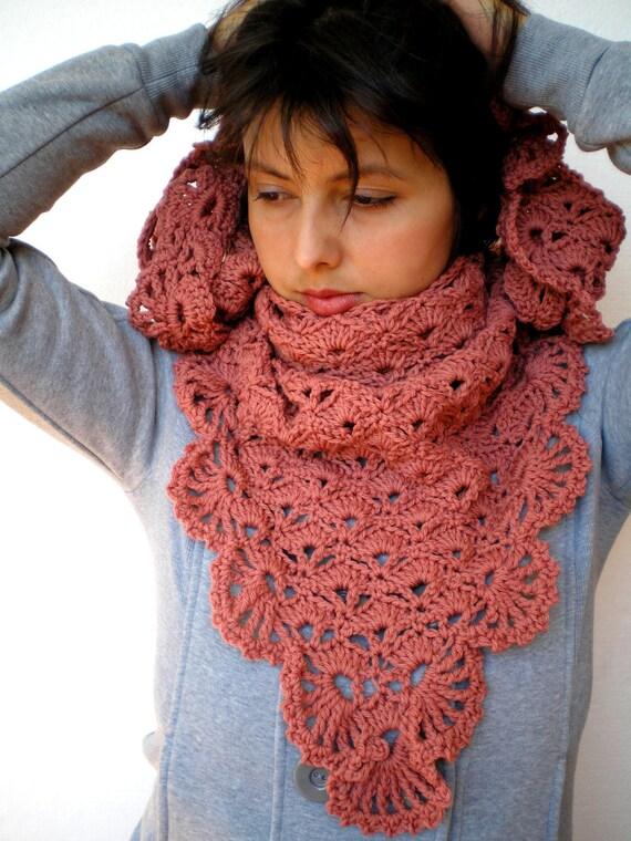 Flower Triangular Scarf Super Soft Pure Wool Shawl Crocheted Woman Shawl NEW COLECTION