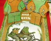 Frog and Toad wooden toy with FREE book