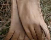 Vintage Leather Gloves Size 7 1/2