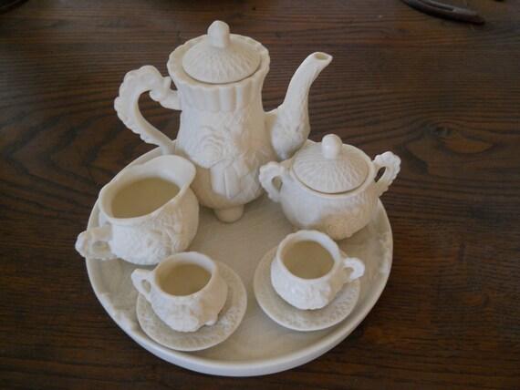 Was 15....Now 7....Shabby Chic Tea Set