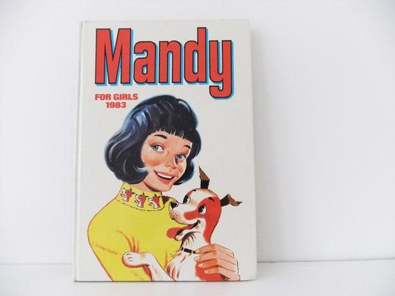 Mandy for Girls 1983 - Vintage Childrens Book.  Childhood Nostalgia.