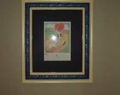 Vintage Mary Had a Little Lamb Picture in Restored Antique Frame