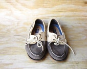 Vintage Boat Shoes Preppy Spring Shoe FREE SHIPPING