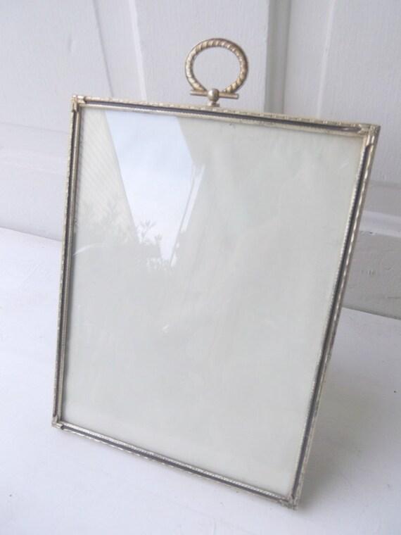Large Vintage Metal Picture Frame