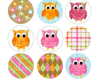 Owl Coming Home For Fall Owl Bottlecap Images Bottle Cap Images  Bottle Caps, Magnets, Jewelry, Hair Bows, and More INSTANT DOWNLOAD
