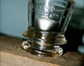 Tea Light Candle Holder, Repurposed Glass Insulators and Reclaimed Barn Board