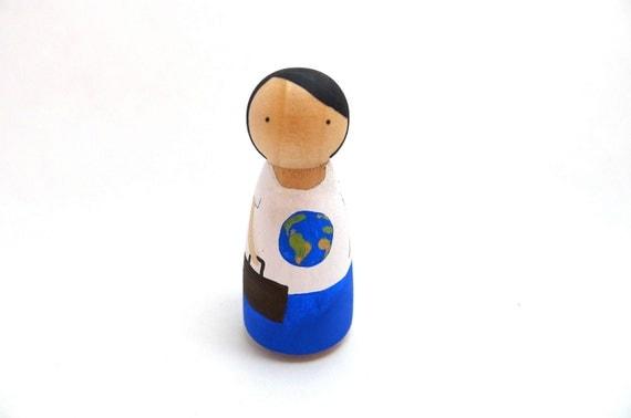 Peg Doll Travels the World