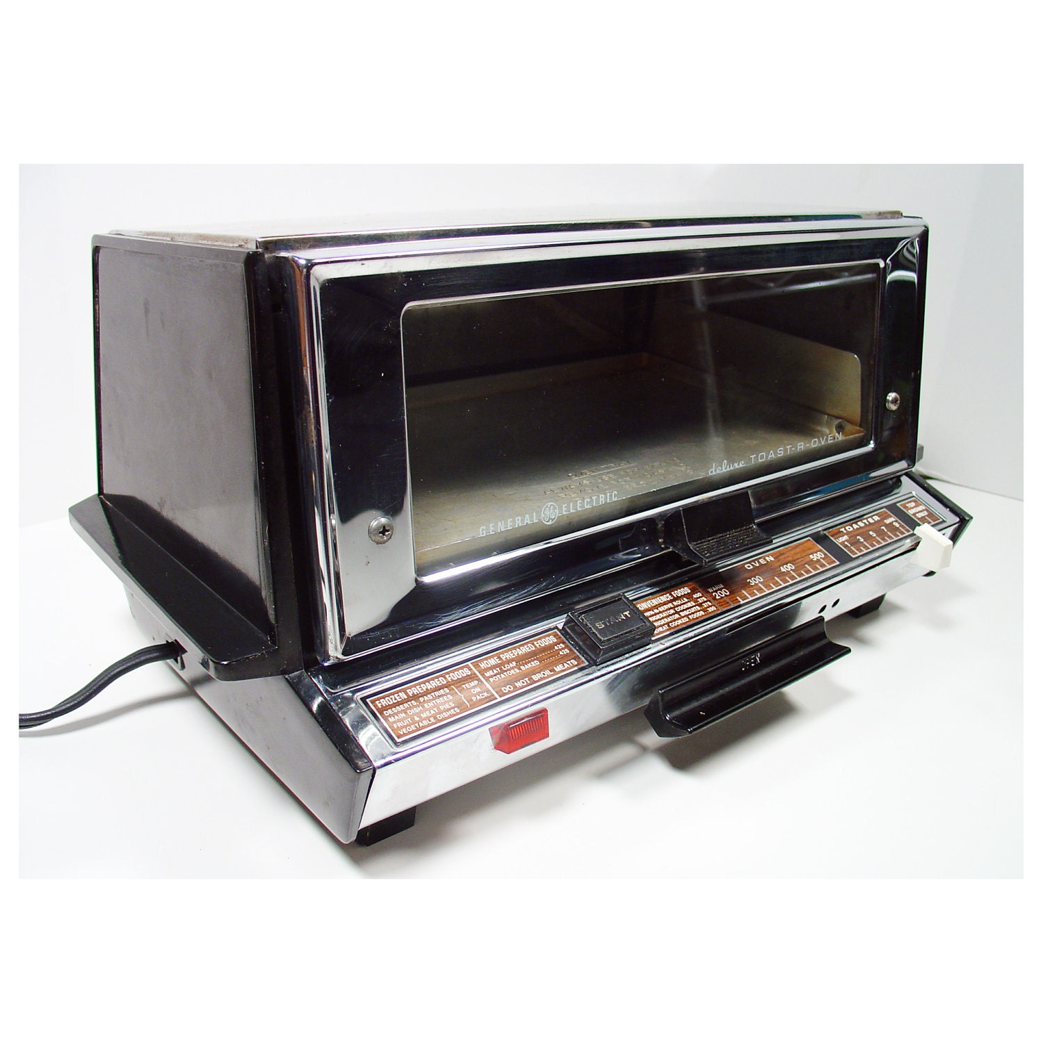 Old Ge Toaster Ovens ~ Toaster oven mid century modern general electric model