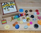 Vintage Style Button Collection-Enjoy