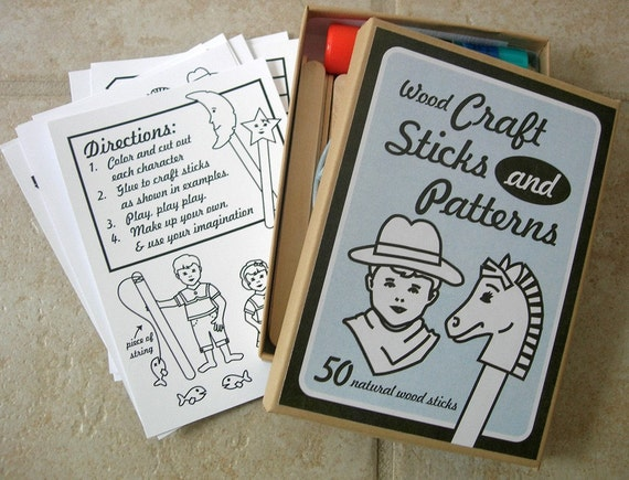 Craft Stick and Pattern Kit