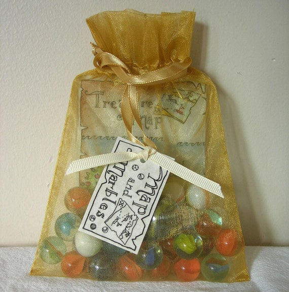 Marbles and Treasure Map