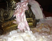 ORIGINAL VINTAGE 1950's Floral Headband with Interchangable Pink and White Options