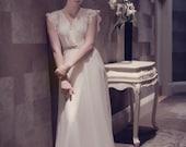 Ella 1940's Inspired Bridal Gown - Custom listing for Brittney Nini - Muslin Sample