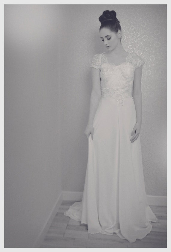 Chloe 1930's Inspired Wedding Dress