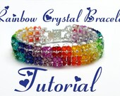 Crystal Rainbow Bracelet Tutorial - Pdf