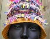 Peruvian Inspired Colorful Crochet Hat...