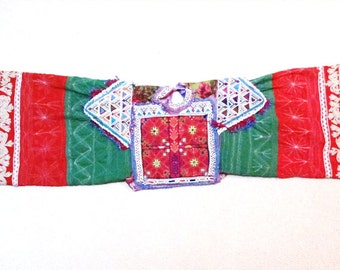 Tribal Dress Yoke with Sleeves from Afghanistan, Vintage