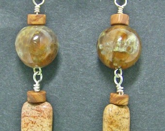 Mossy Riverbank Earrings