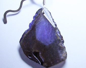 Purple Asteroid Pendant