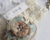 Love and Trust Lace pendant