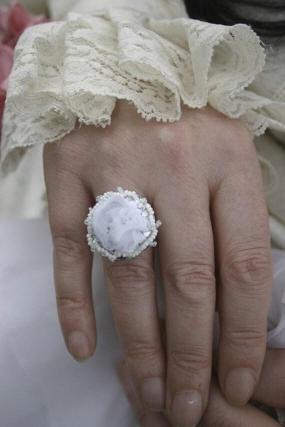 Bridal Garden Fabric Ring