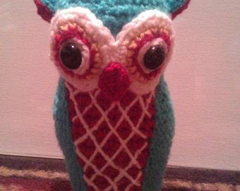 Stuffed Horned Owl