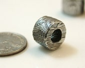Stainless Damascus Bead/Pendant
