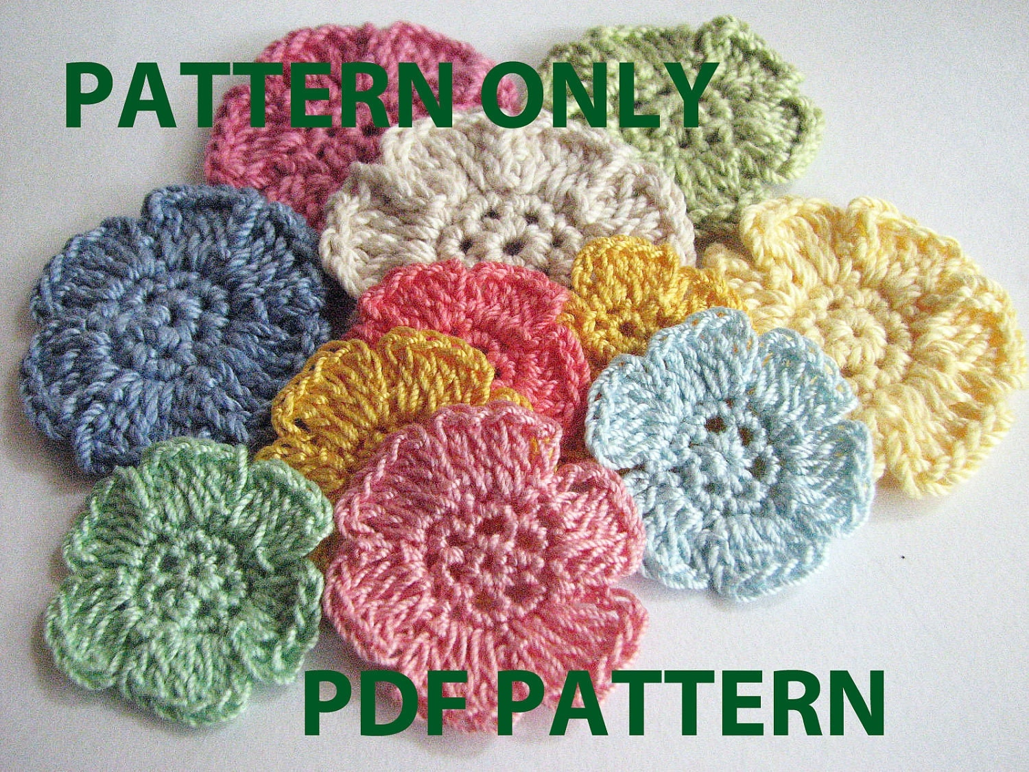 Crochet Flower Pattern Crochet Flower Pattern