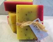 Honeysuckle Natural Olive Oil Soap - Organic Ingredients