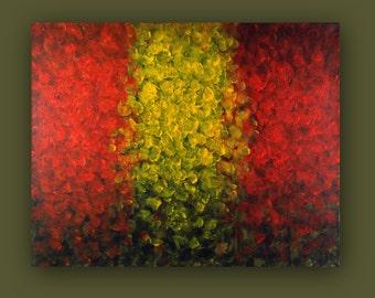 FALL - Original Painting 16x20 by Masako