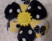 Sunflower Blossom Clippie