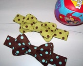 LITTLE GUY BOWTIE Adjustable - Choose Your Fabric Sz 3mo-5yrs or 6yrs-10yrs - CUSTOM by RubyBeanToes